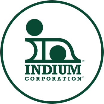 Indium Corporation logo circle image