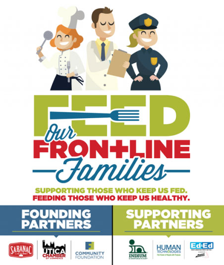 Feed Our Frontline Families flyer
