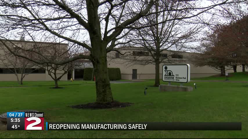 WKTV: Reopening Manufacturing Safely