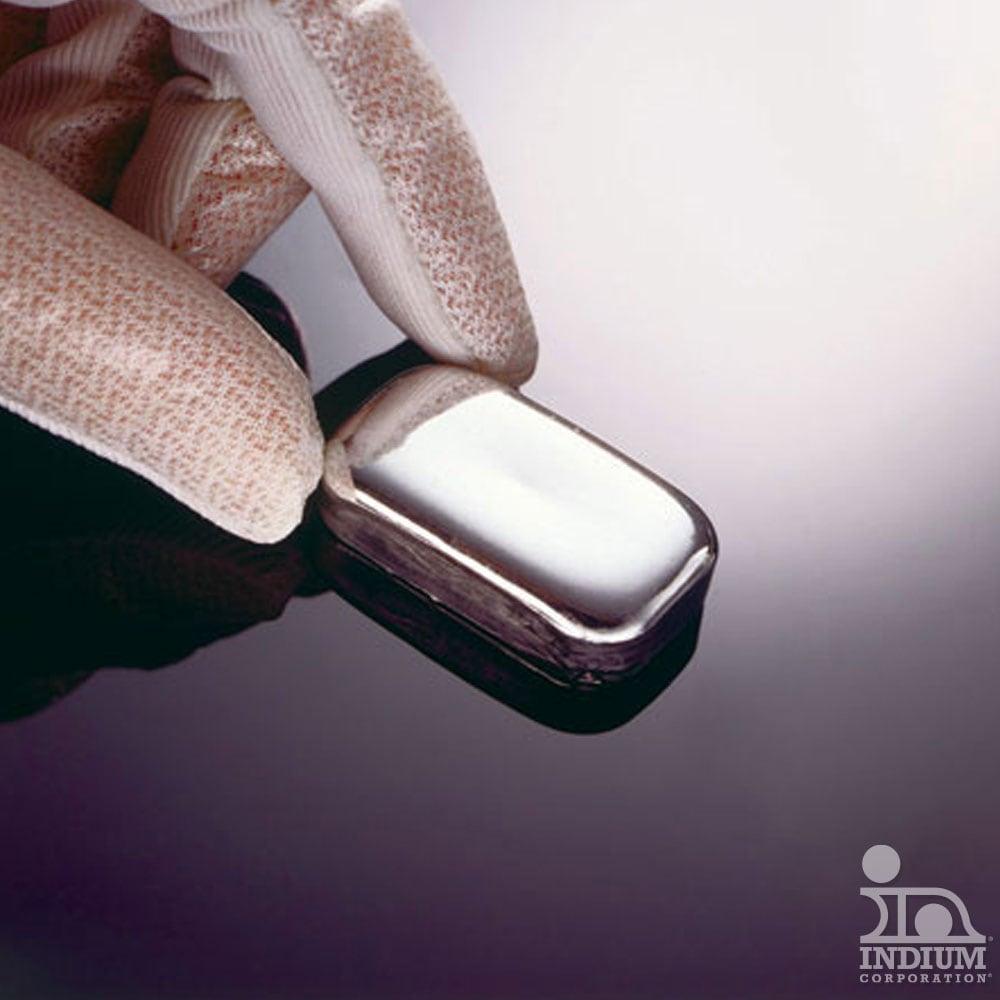 Main High Purity Indium Very High Purity Indium Metal Indium Indium Blocks with Indium