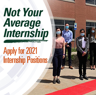 Not Your Average Internship: Apply for 2021 Internship Positions